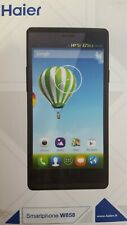 "HAIER W858 NERO SMARTPHONE 5"" QUAD CORE 1.2GHZ DUAL SIM ANDROID 4.3 5MP 4GB"
