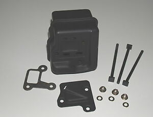 Auspuff inkl.- Montage Kit für Stihl 029, MS290, 039 und MS390