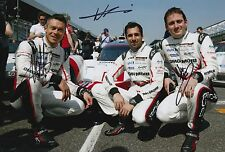 Lotterer, Tandy, Jani Hand Signed Porsche Racing 12x8 Photo Le Mans 2017 1.