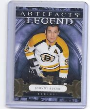 09-10 2009-10 ARTIFACTS JOHNNY BUCYK LEGEND GOLD PARALLEL /50 108 BRUINS
