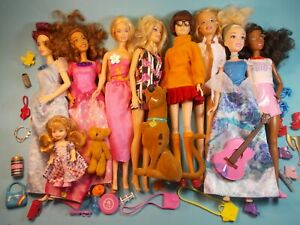 Barbie Dolls and Accessories Lot