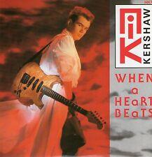 """Nik Kershaw - When A Heart Beats - 7"""" Single"""