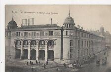 Marseille Hotel Des Postes Vintage Postcard  206a