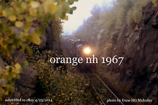 """Boston & Maine RR 1506 freight BJ3  Orange NH 1967 4x6"""" photo"""