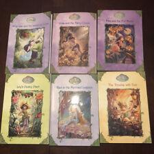 Lot Of 6 Stepping Stone Book Series- Disney Fairies Children's Books