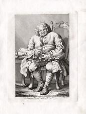 Antique Print-SIMON LORD LOVAT-SCOTLAND--Hogarth-1820