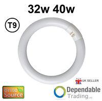 BRITE SOURCE 32w / 40w 4 PIN CIRCULAR MAGNIFIER LAMP T9 FLUORESCENT TUBE 3500K