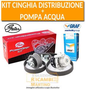 Kit Cinghia Distribuzione Gates + Pompa Acqua Graf Ford Transit 2.5 TD 74KW