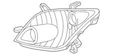 Genuine Toyota Composite Headlamp 81170-52641