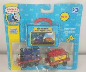 NEW 2008 Thomas & Friends Take Along Diecast Sir Handel & Apple Truck Train