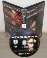 HEADHUNTER Ps2 gioco game Sony PlayStation 2 originale prima stampa sega pal