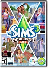 NEW The Sims 3 University Life Expansion Pack — Windows / Mac — PC. Video Game
