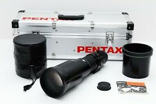 SMC PENTAX-A 600mm f/5.6 ED Lens Black [SUPER RARE EXCELLENT++] 494259
