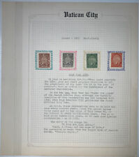 Vatican City 1933 Holy Year (4) MH Postage Stamps