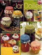 Jar Doily 25 Crochet PATTERNS Top Special Handmade Gifts Jelly Fruit Potpourri