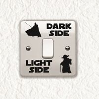 Dark Light Side Switch Sticker Vinyl Decal Child Room Light Switch