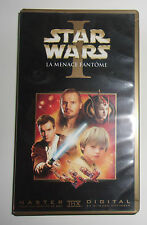 K7 VIDEO VHS STAR WARS I LA MENACE FANTOME