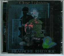 Close Lobsters Headache Rhetoric Cd Rare