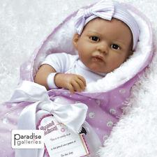 Paradise Galleries Real Life Silicone Vinyl Hispanic Reborn Baby Doll Princess