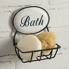 Bath Time new hanging metal Soap Holder