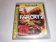 PlayStation 3  PS3   Far Cry 2 [Platinum] von Ubisoft      USK 18
