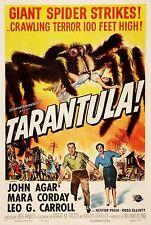 Tarantula 1955 Horror Film Vintage Cinema Movie Poster Print Picture A3