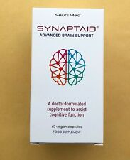 Synaptaid Advanced Brain Support - Doctor-Formulated Cognitive Function 60 caps
