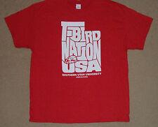 T-Bird Nation USA Southern Utah University Thunderbirds Shirt XL New Licensed