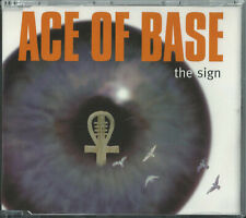 ACE OF BASE - THE SIGN 1993 UK 3 TRACK CD SINGLE METRONOME ACECD 1