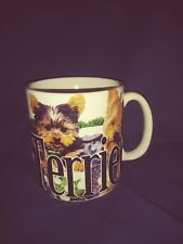 Yorkshire Terrier Jumbo 2014 18oz Coffee Cup designed by Americanware Euc