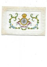 More details for army cyclist corps ww1 silk postcard