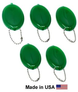 Oval Squeeze Purses 5 New Units | Holds your small items and coins | Made in USA