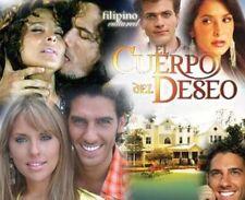 dvd telenovela completa EL CUERPO DEL DESEO 32 Dvds $95.00