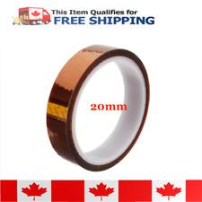 20mm x 33meter Kapton Polyimide Heat Resistant Film Tape