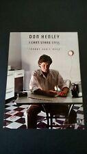 "Don Henley "" I Can'T Stand Still "" 1982 Rare Original Print Promo Poster Ad"