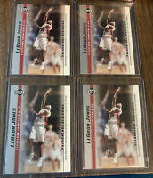 2003-04 Upper Deck Lebron James Rookie Card Lot Of 4 GOAT Cavs Heat Lakers MVP