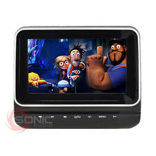 Universal 12v Car Tablet-Style HD Headrest DVD Player/Screen USB/SD Headphones