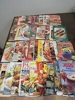 LOT of 48 Booklet Cookbooks Recipes - Great Selection Campbells Favorite Recipes