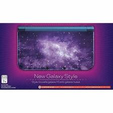 Nintendo New 3DS XL Galaxy Style With AC Adapter Very Good Portable System 0Z