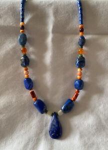 artisan statement necklace