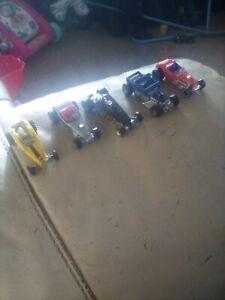 Hotwheels joblot x 5 mixed cars