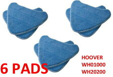 6 Washable Hoover Steam Mop Pads Compatible WH20200 Steam Mop # WH01000