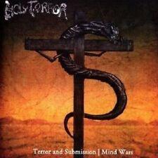 HOLY TERROR - Terror & Submission / Mind Wars 2CD, NEU