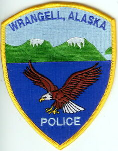 Wrangell Police Alaska patch