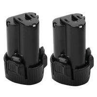 1X(2Pcs Batterie Li-Ion 3.0AH 10.8V Pour Makita BL1013 BL1014 194550-6 1945 T1B6