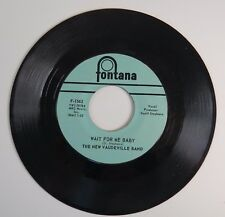 45 RPM Record: The New Vaudeville Band - Wait for Me Baby - Winchester Cathedral
