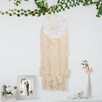 Macrame Woven Wall Hanging Dream Catcher Tapestry Boho Chic Bohemian Home Decor