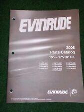 2006 Evinrude Parts Catalog Manual 135 150 175 HP DI DEALER FACTORY