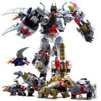 BPF Transformers Generations Power of the Primes Volcanicus Dinobot Toy KO.ver