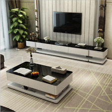High Gloss Coffee Table Tempered Glass D01